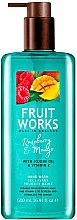 """Parfumuri și produse cosmetice Săpun de mâini """"Zmeură și Mango"""" - Grace Cole Fruit Works Hand Wash Raspberry & Mango"""