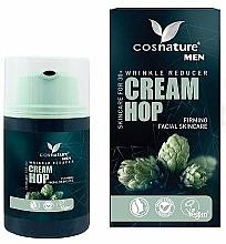 Parfumuri și produse cosmetice Cremă naturală antirid cu extract de hamei - Cosnature Men