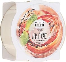 Parfumuri și produse cosmetice Lumânare aromată - House of Glam French Apple Cake Candle (mini)