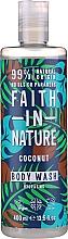 Parfumuri și produse cosmetice Gel de duș - Faith in Nature Coconut Body Wash