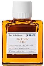 Parfumuri și produse cosmetice Korres Saffron Orris - Apă de toaletă