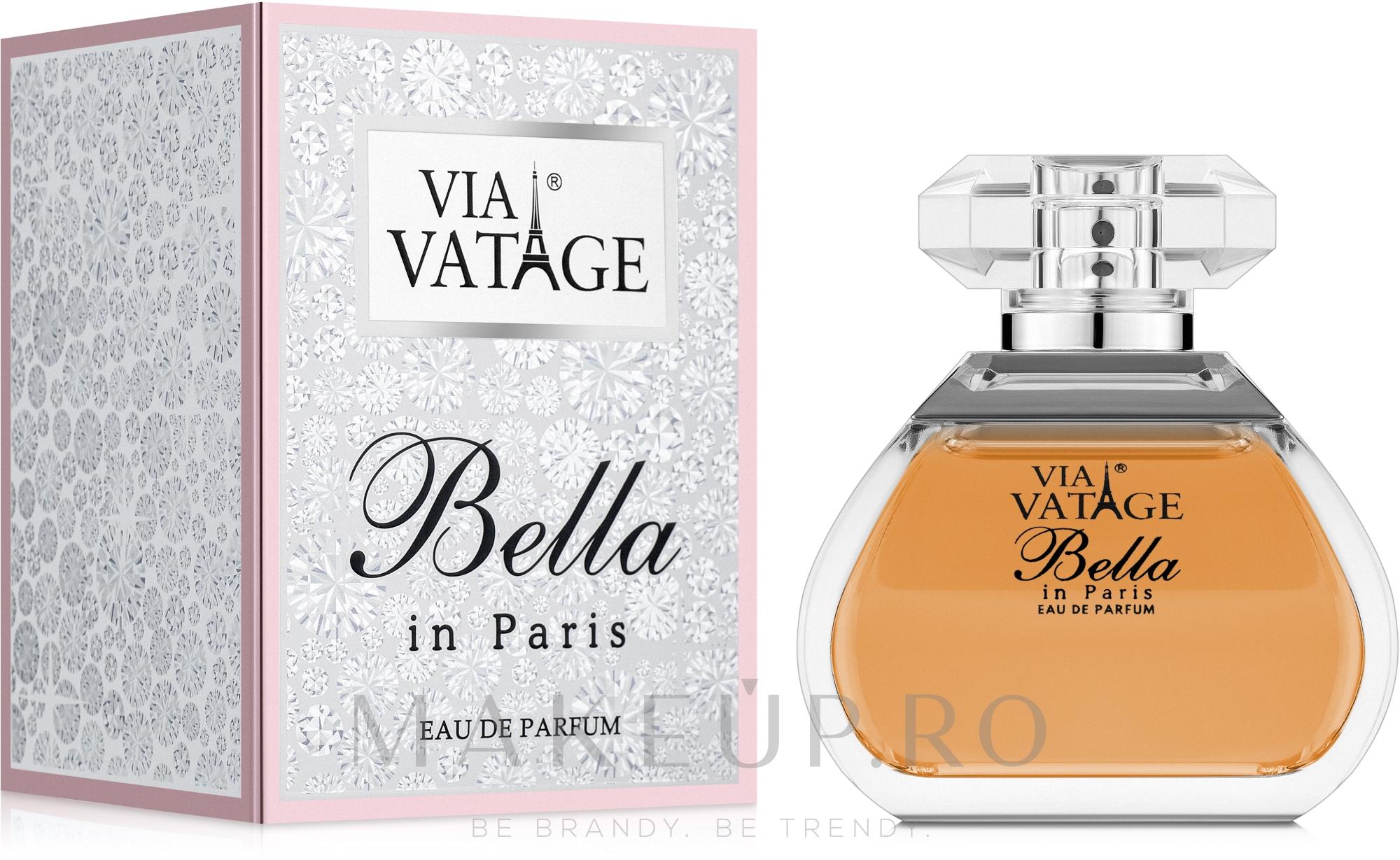 Via Vatage Bella in Paris - Apă de parfum — Imagine 100 ml