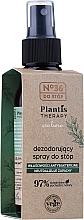 Parfumuri și produse cosmetice Deodorant spray pentru picioare - Pharma CF No.36 Plantis Therapy Foot Spray