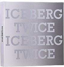 Parfumuri și produse cosmetice Iceberg Twice Homme - Set (edt/125ml +acs)