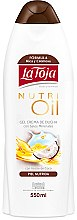 Parfumuri și produse cosmetice Gel de duș cu uleiuri esențiale - La Toja Hidrotermal Nutri Oil Shower Gel