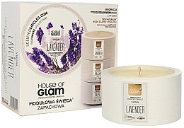 Parfumuri și produse cosmetice Lumânare aromată - House of Glam Virgin Lavender Candle