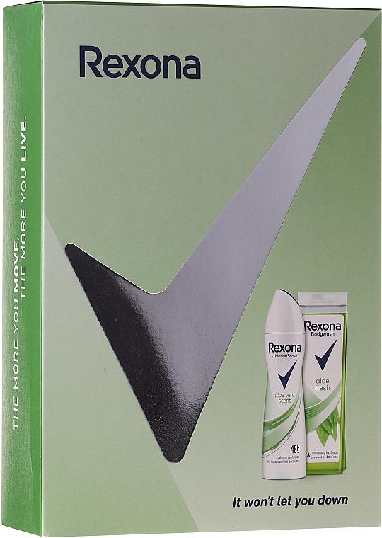Set - Rexona Motion Sense Woman Aloe Fresh (deo/150ml + sh/gel/250ml) — Imagine N1