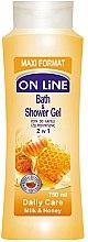 Parfumuri și produse cosmetice Gel-spumă de duș - On Line Daily Care Bath & Shower Gel
