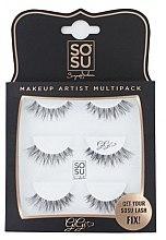 "Parfumuri și produse cosmetice Set gene false ""Gigi"" - Sosu by SJ Makeup Artist Multipack Eyelashes"