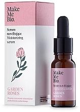 Parfumuri și produse cosmetice Ser pentru față - Make Me Bio Serum Garden Roses