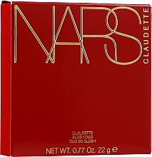 Parfumuri și produse cosmetice Fard de obraz - Nars Claudette Blush Duo
