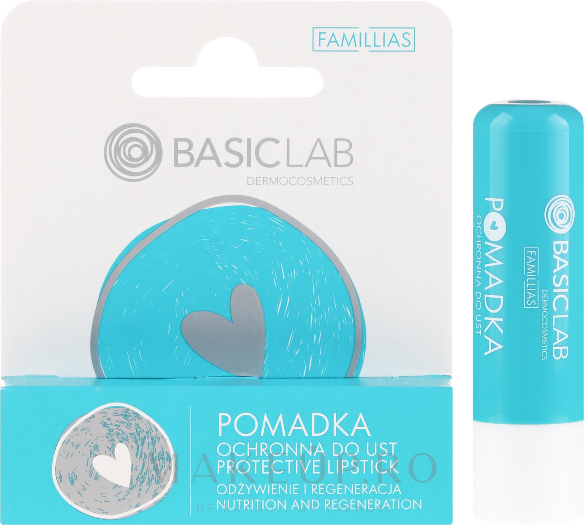 Ruj protector de buze - BasicLab Dermocosmetics Famillias — Imagine 4 g