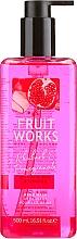 """Parfumuri și produse cosmetice Săpun de mâini """"Rhubarbă și Rodie"""" - Grace Cole Fruit Works Hand Wash Rhubarb & Pomegranate"""