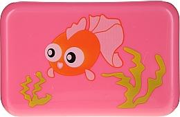 Parfumuri și produse cosmetice Suport pentru săpun, 6024, roz cu peștișor - Donegal