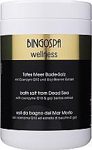 Parfumuri și produse cosmetice Sare SPA din Marea Moartă cu coenzima Q10 și extract de fructe de goji - BingoSpa Salt For Bath SPA of Dead Sea