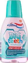 Parfumuri și produse cosmetice Apă de gură - Aquafresh Big Teeth Mouthwash