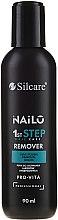 Parfumuri și produse cosmetice Soluție pentru îndepărtarea ojei - Silcare Nailo Remover Pro-vita