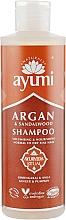 "Parfumuri și produse cosmetice Șampon ""Aragana și lemn de santal"" - Ayumi Argan & Sandalwood Shampoo"