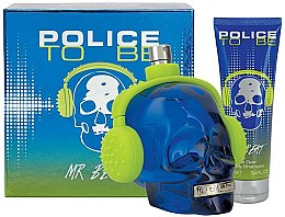 Parfumuri și produse cosmetice Police To Be Mr Beat - Set (edt/75ml + sh/gel/100ml)