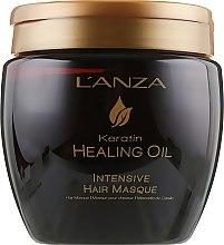 Parfumuri și produse cosmetice Mască intensivă pentru păr - L'anza Keratin Healing Oil Intesive Hair Masque