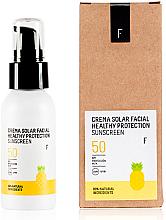Parfumuri și produse cosmetice Cremă cu protecție solară pentru față SPF 50 - Freshly Cosmetics Healthy Protection Facial Sun Cream