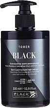 Parfumuri și produse cosmetice Tonic pentru păr - Black Professional Line Semi-Permanent Coloring Toner