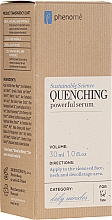 Parfumuri și produse cosmetice Ser profund hidratant pentru față - Phenome Quenching Powerful Serum