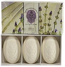 """Parfumuri și produse cosmetice Set săpunuri """"Lavanda"""" - La Florentina Lavender Bath Soap Set"""