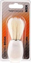 Parfumuri și produse cosmetice Pămătuf de ras, alb 30338 - Top Choice
