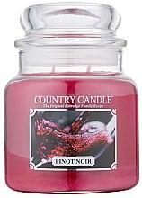 Parfumuri și produse cosmetice Lumânare aromată - Country Candle Pinot Noir