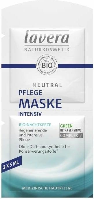 Mască intensiv nutritivă pentru față - Lavera Neutral Nourishing Intensive Mask — Imagine N1