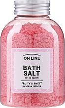 "Sare de baie ""Dulciuri și Fructe"" - On Line Fruity & Sweet Bath Salt — Imagine N1"