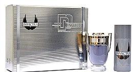Parfumuri și produse cosmetice Paco Rabanne Invictus - Set (edt/100ml + deo/150ml)