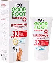 Parfumuri și produse cosmetice Gel pentru îndepărtarea bătăturilor - Delia Cosmetics Good Foot Podology Nr 3.2