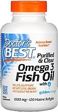 Parfumuri și produse cosmetice Ulei de pește Omega-3, 1000 mg, capsule - Doctor's Best Fish Oil Omega 3