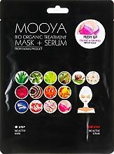 """Parfumuri și produse cosmetice Mască + Ser """"Îngrijirea sânilor"""" - Beauty Face Mooya Bio Organic Treatment Mask + Serum"""