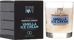 """Parfumuri și produse cosmetice Lumânare naturală pentru masaj """"Vanilie"""" - Sezmar Collection"""