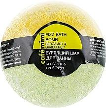 """Parfumuri și produse cosmetice Bilă efervescentă de baie """"Bergamotă și grapefruit"""" - Cafe Mimi Bubble Ball Bath"""