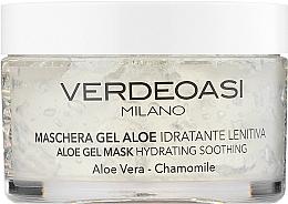 Parfumuri și produse cosmetice Mască cu gel de Aloe Vera, hidratantă, liniștitoare - Verdeoasi Aloe Gel Mask Hydrating Soothing