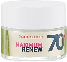 """Parfumuri și produse cosmetice Cremă regenerantă antirid 70+ """"Colagen + 7 uleiuri"""" - Vollare Cosmetics Age Creator"""