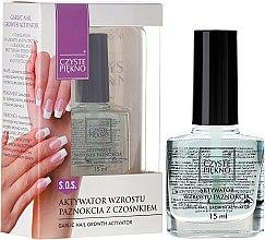 Parfumuri și produse cosmetice Activator pentru creșterea unghiilor - Czyste Piękno Garlic Nail Growth Activator