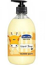 Parfumuri și produse cosmetice Săpun lichid - On Line Kids Time Liquid Soap Bubble Gum