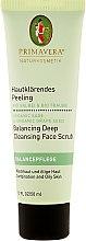 Parfumuri și produse cosmetice Scrub pentru față - Primavera Balancing Deep Cleansing Face Scrub