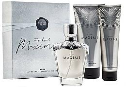 Parfumuri și produse cosmetice Avon Maxime - Set (edt/75ml + a/balm/100ml + b/gel/200ml)