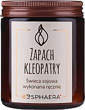 """Parfumuri și produse cosmetice Lumânare aromată din soia """"Scent of Cleopatra"""" - Bosphaera The Scent of Cleopatra Candle"""