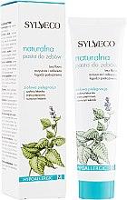 Parfumuri și produse cosmetice Pastă naturală de dinți - Sylveco Natural Toothpaste