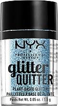 Parfumuri și produse cosmetice Glitter pentru față și corp - NYX Professional Makeup Glitter Quitter Plant-Based Glitter