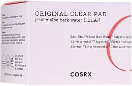 Parfumuri și produse cosmetice Paduri demachiante cu acid BHA pentru față - Cosrx One Step Original Clear Pads
