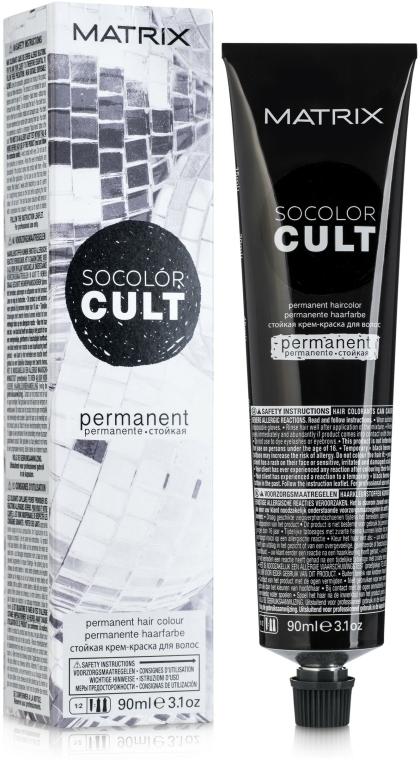 Vopsea de păr - Matrix Socolor Cult Permanent Haircolor