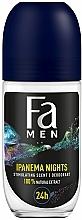 """Parfumuri și produse cosmetice Deodorant Roll-On pentru bărbați """"Ritmurile Braziliei"""" - Fa Men Ipanema Nights Deo Roll On"""
